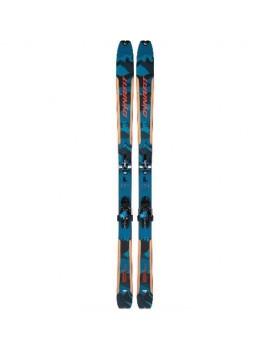 PACK SKIS DYNAFIT SKIS SEVEN SUMMITS BLUE RED 2020   Troc Sport