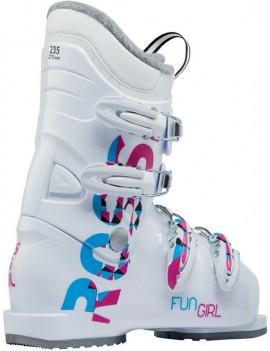 CHAUSSURES ROSSIGNOL  FUN GIRL J4 (WHITE) 2020  | Troc Sport